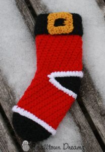 Santa Stocking by Smalltown Dreams