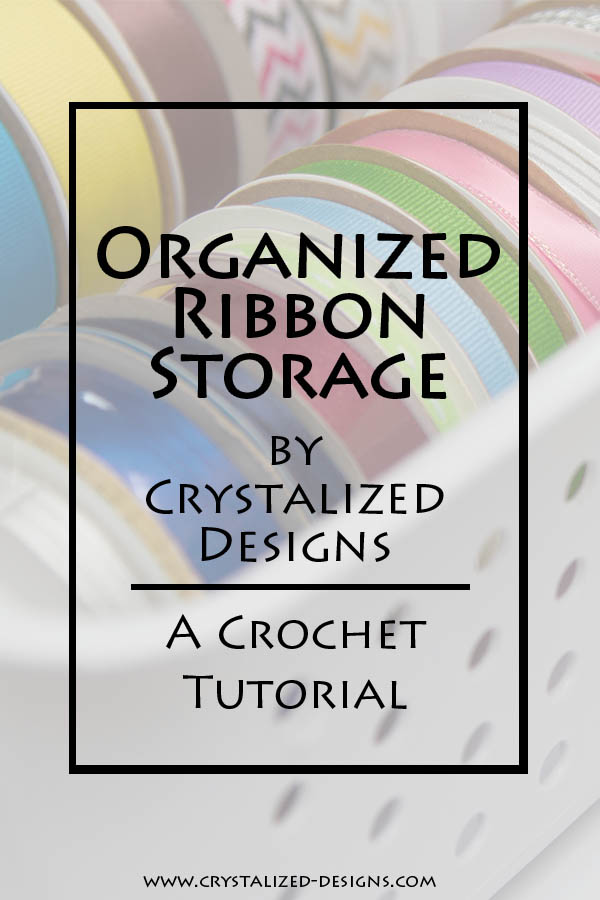 Organized Ribbon Storage Tutorial