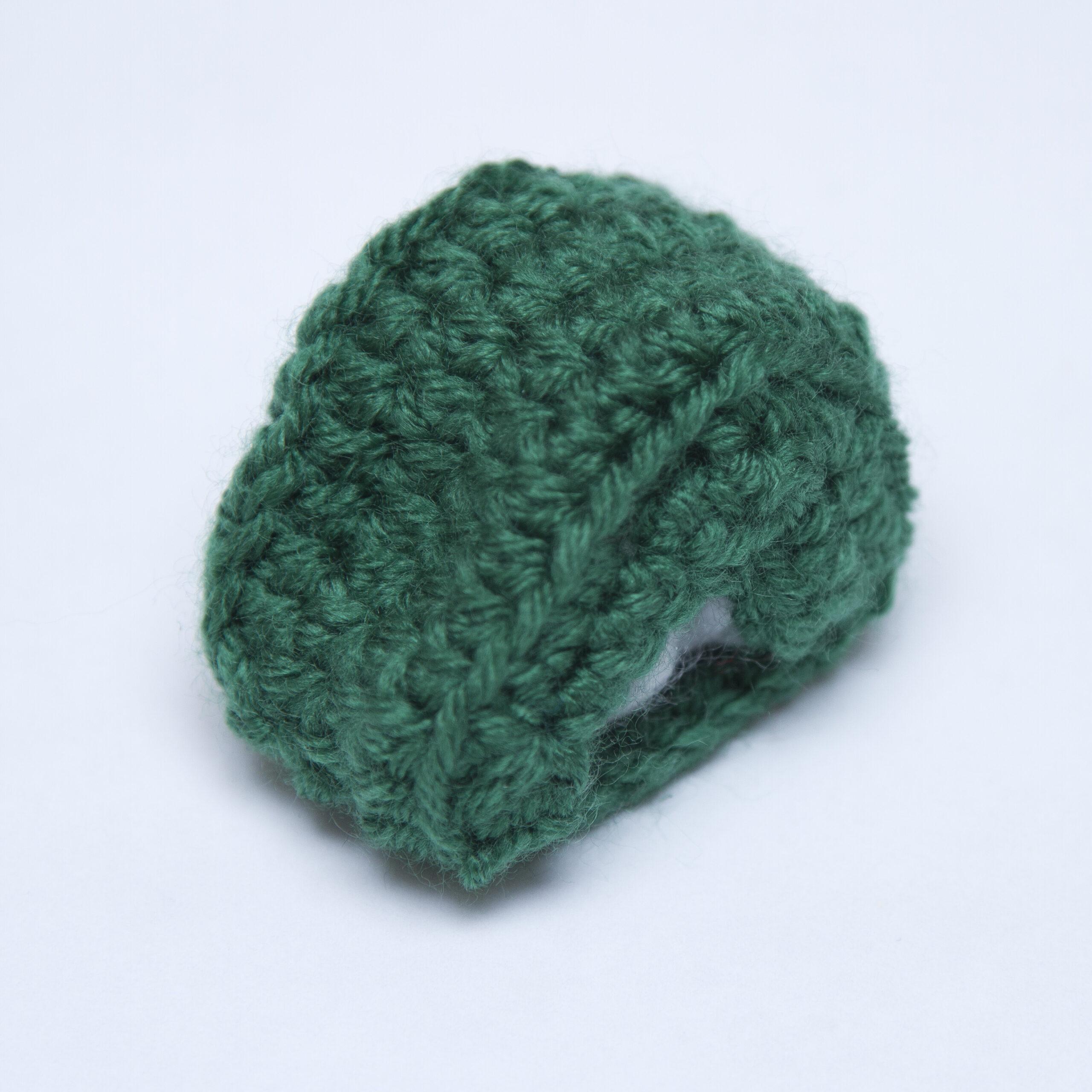 Santa's Sleigh Ornament Crochet Tutorial 5