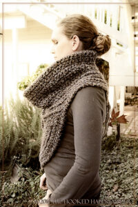 Huntress Cowl Cross-Body Vest