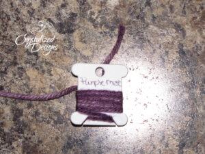 Step 2-3 Yarn Color Swatch Tutorial