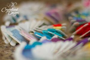 Yarn Color Swatch Tutorial 3