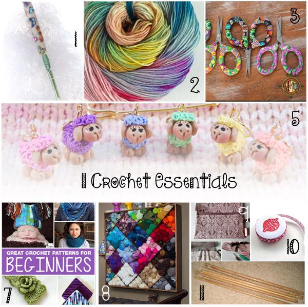 Ultimate Crochet List ~ Crochet Essentials