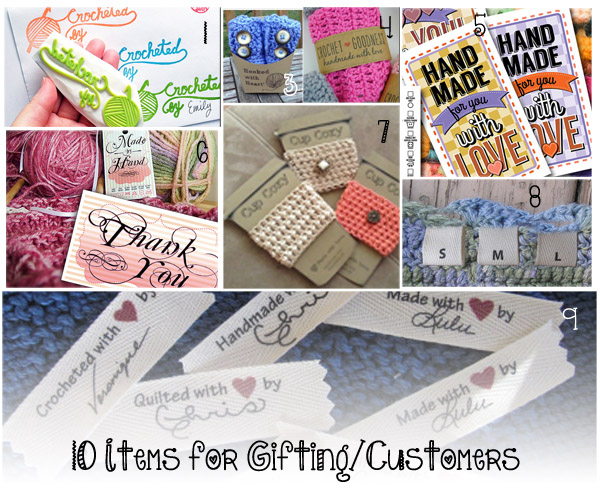 Ultimate Crochet List ~ Items for Gifting and Customers