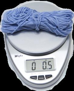 Weigh Scrap Yarn