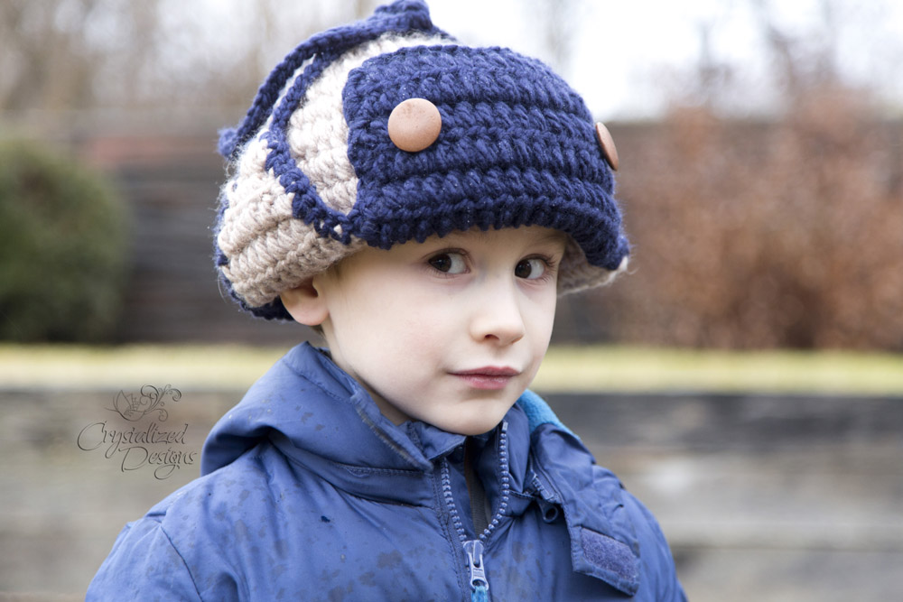 Brimmed Beanie Crochet Pattern