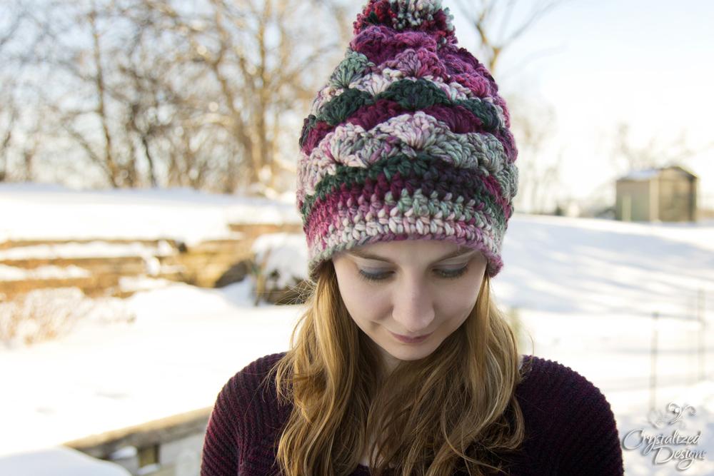 Shell Beanie Crochet Pattern
