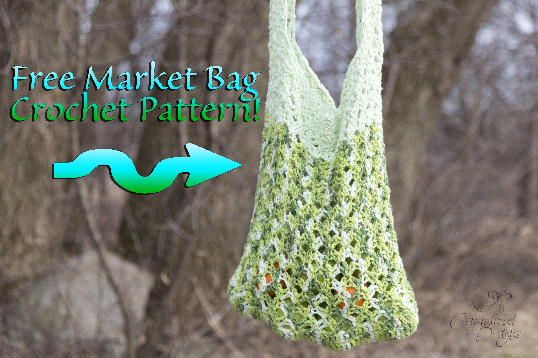 Garden Green Bag Crochet Pattern