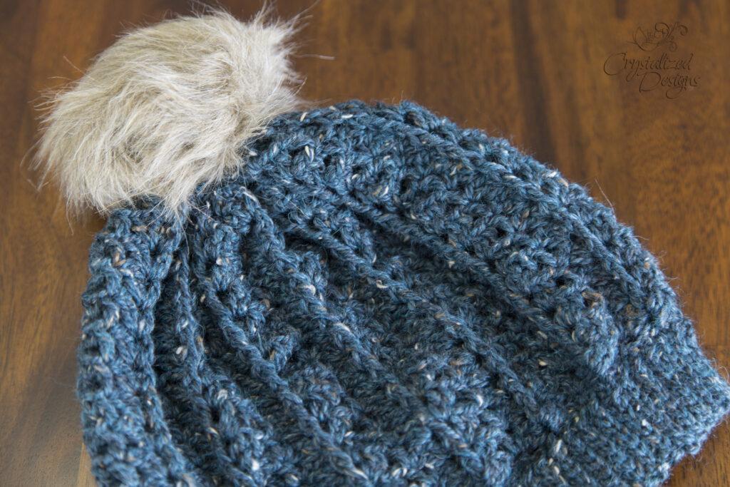 Crochet Fur Pom Pom