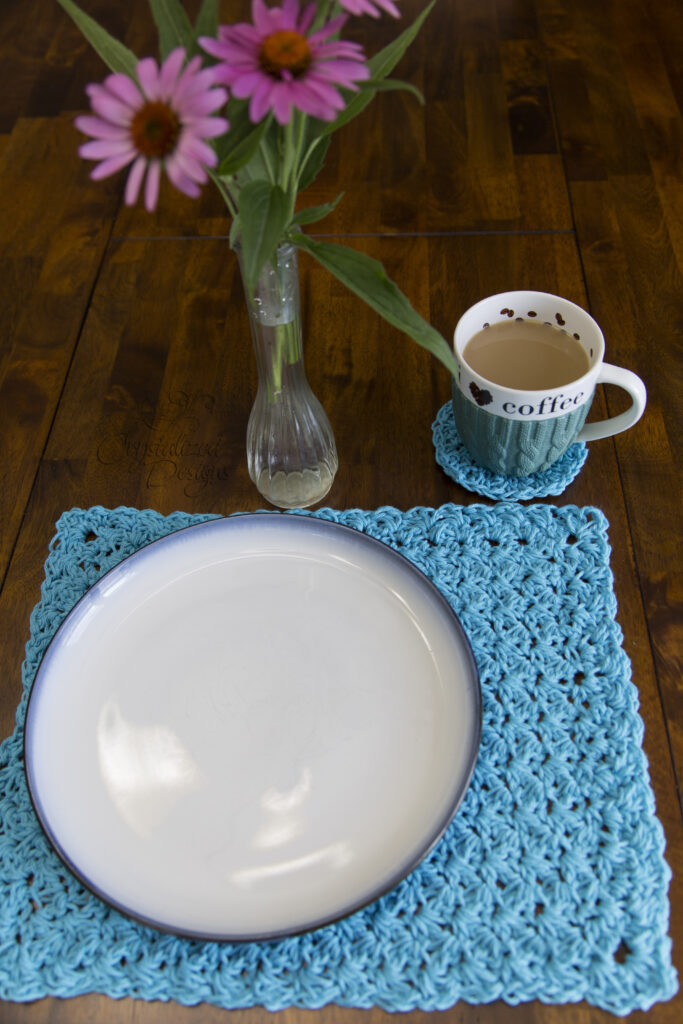 dinner setting crochet pattern