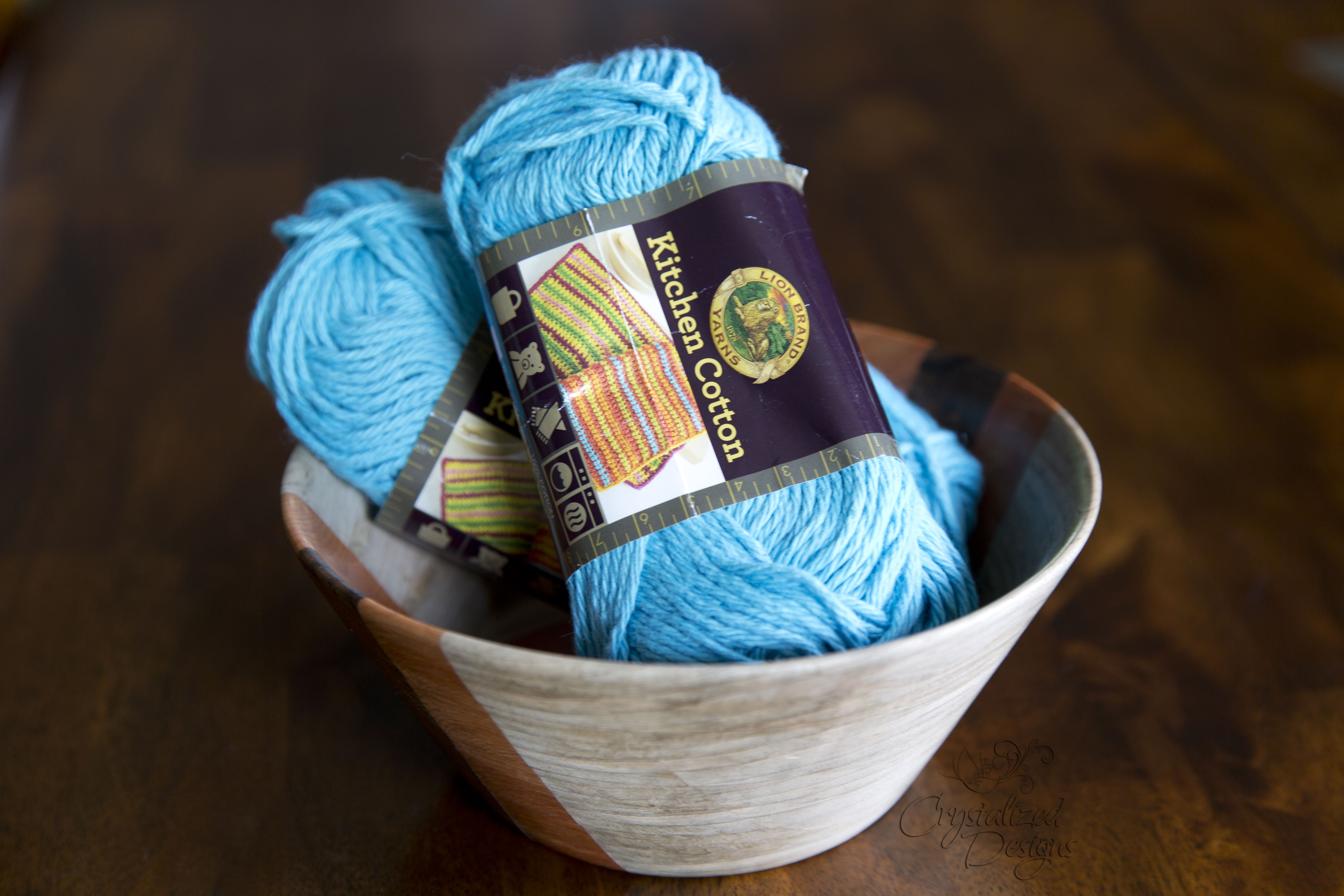 Kitchen Cotton Yarn Review by Crystalized Designs