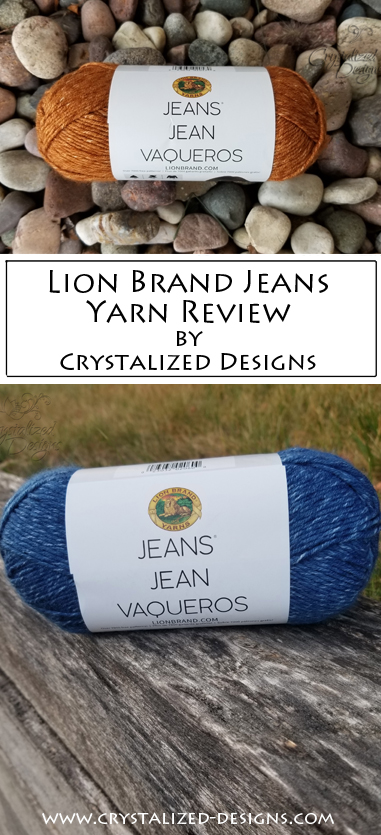 Lion Brand Jeans Review by Crystalized Designs