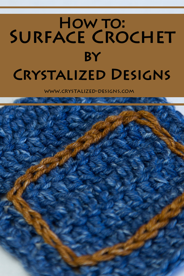 Surface Crochet Tutorial by Crystalized Designs