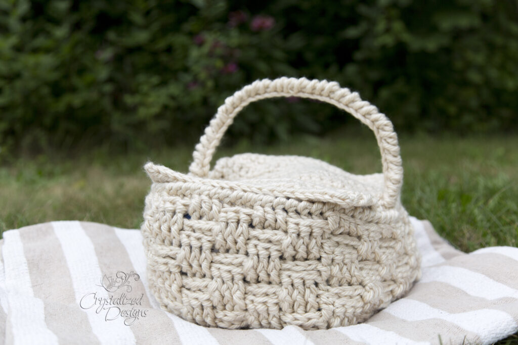 picnic basket crochet pattern