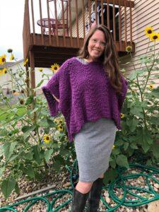 Riverwalk Poncho Crochet Pattern by Crystalized Designs