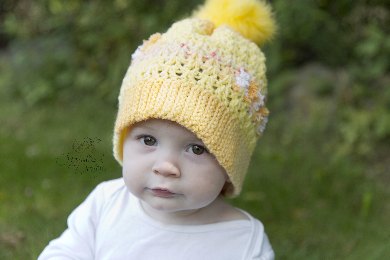 5b5253834f1 Brennan Beanie Free Crochet Pattern by Crystalized Designs