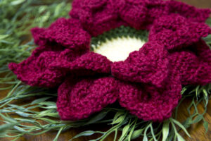 flower nesting bowls free crochet pattern