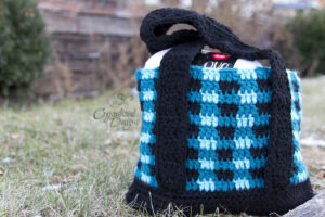 buffalo plaid purse crochet pattern