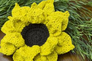 Flower Crochet Nesting Bowl