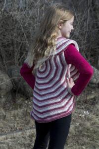 child circle vest crochet pattern