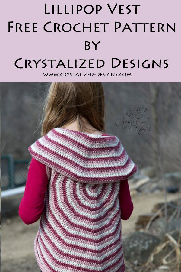 Lollipop Vest Crochet Pattern by Crystalized Designs
