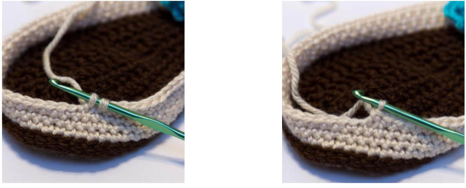 Invisible Decrease Crochet 2