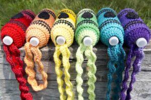 water bottle cozy crochet pattern
