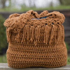 Kechik Boho Bag Free Crochet Pattern by Crystalized Designs