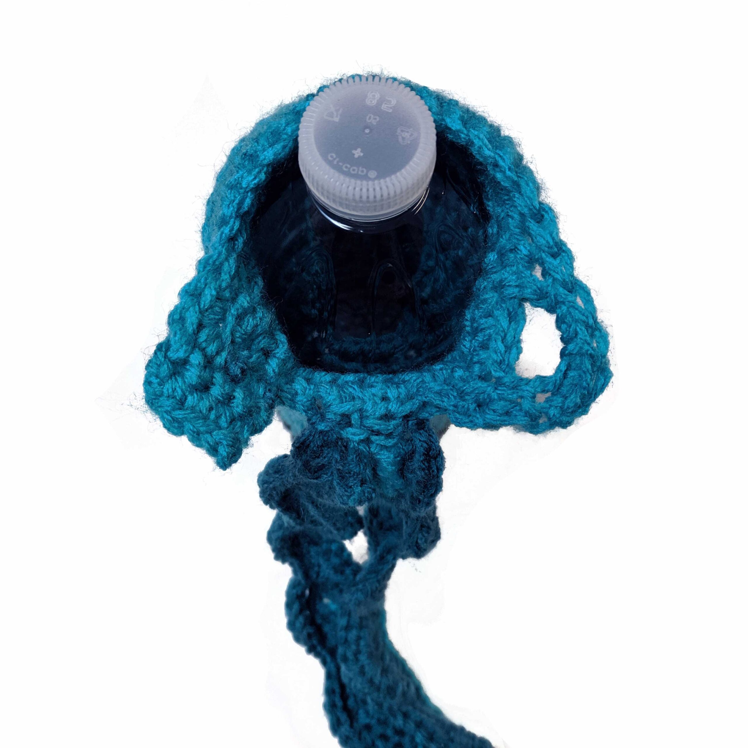 water bottle cozy crochet