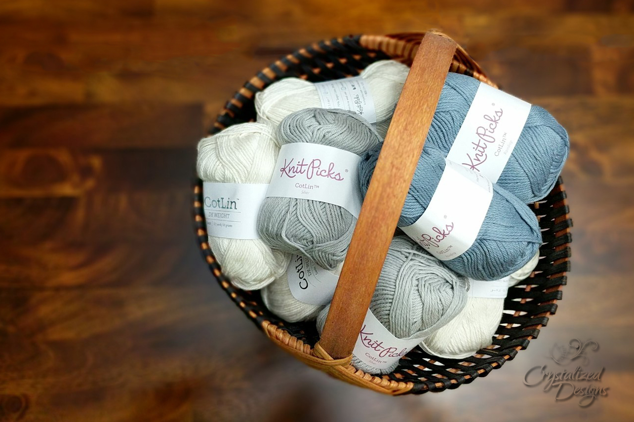 Knit Picks Cotlin Yarn Review by Crystalized Designs