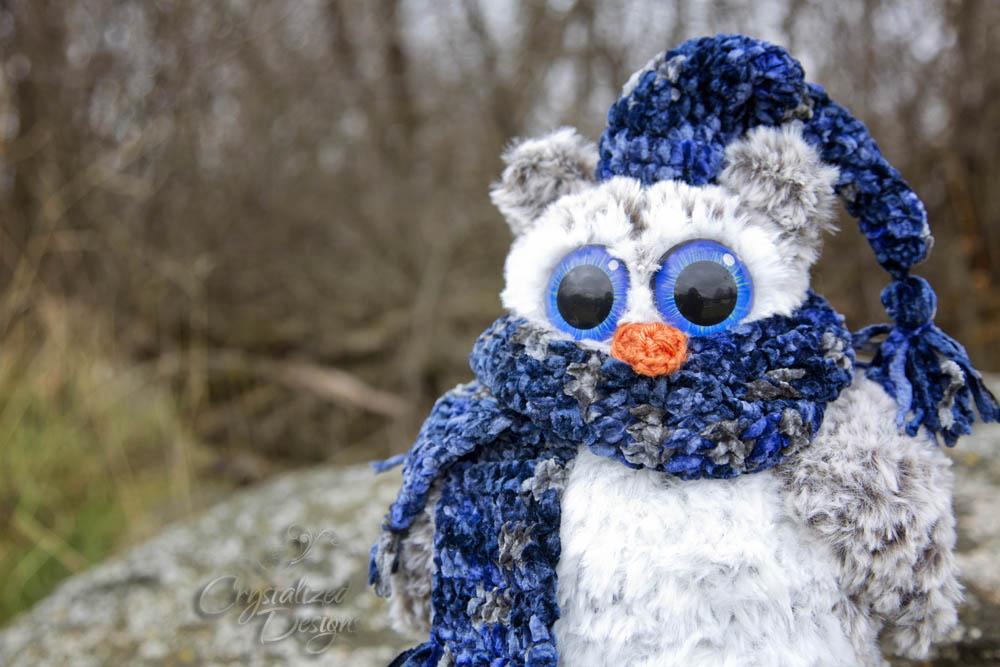 Owen the Owl Crochet Pattern