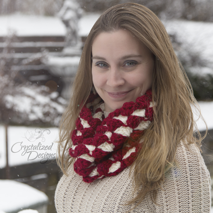 Meira Cowl Free Crochet Pattern by Crystalized Designs