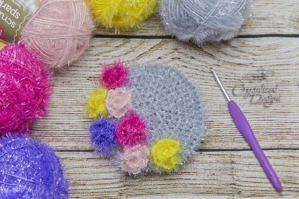 Kitchen Scrubby Crochet Pattern