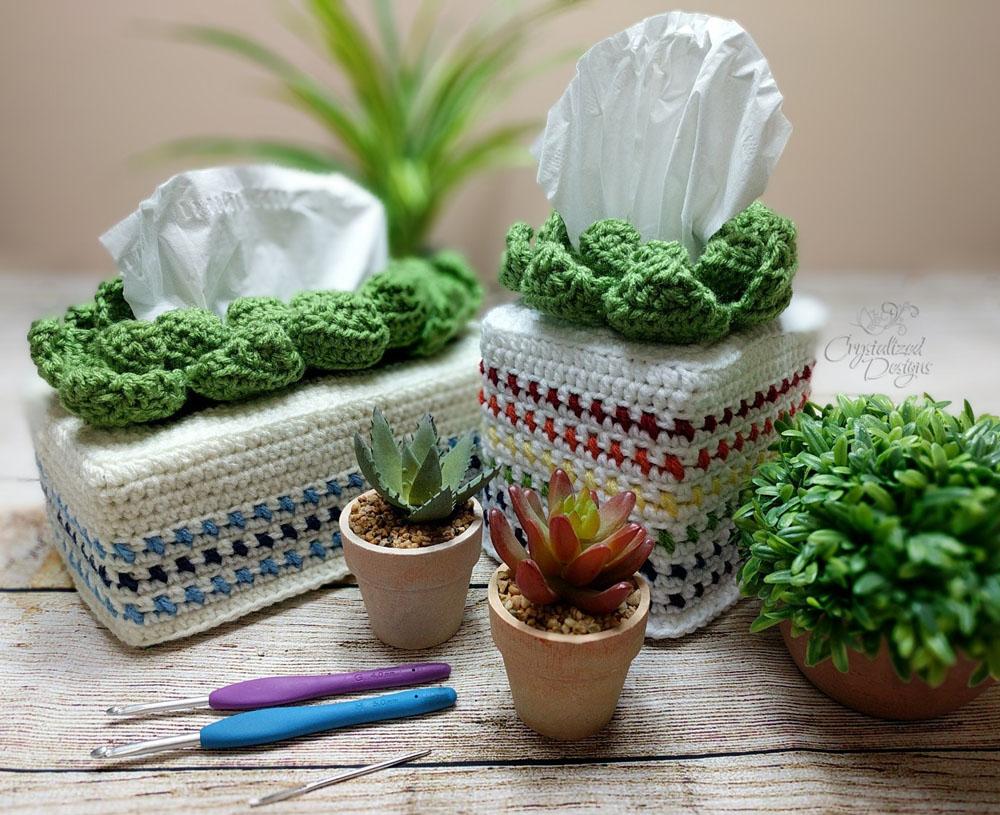 Succulent Tissue Cover Crochet Pattern