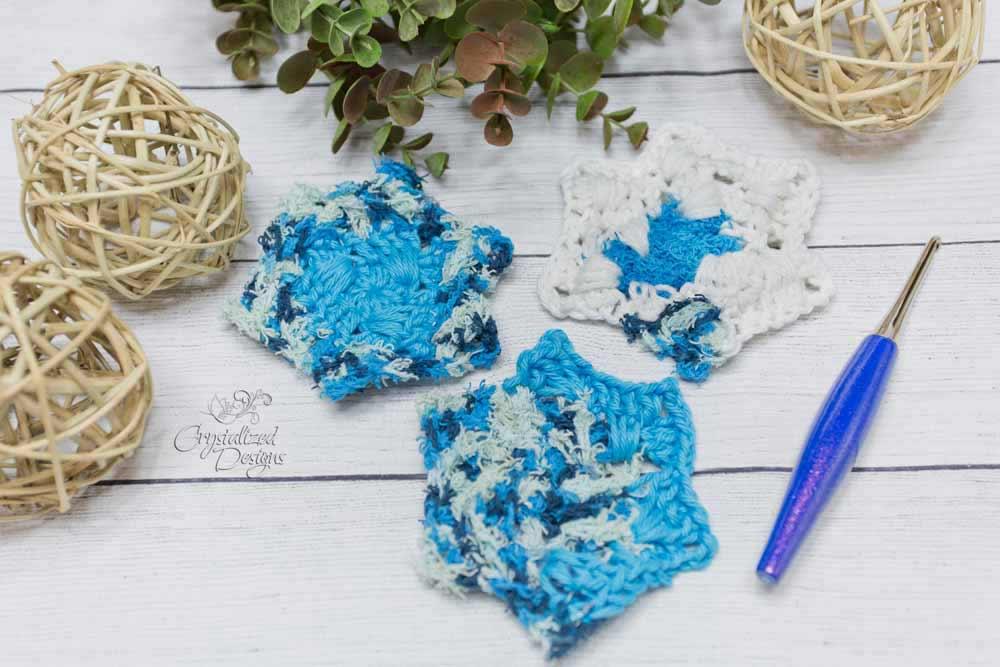Star Scrubby Free Crochet Pattern